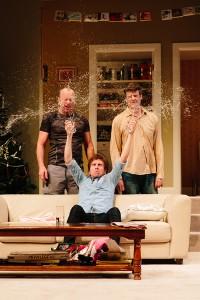 Chris Pitman, Lucas Stibbard, Hugh Parker in Straight White Men ©Kate Pardey