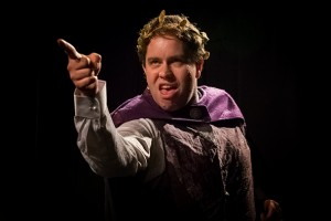 Matt Houston as the flawed Emperor - image by Richard Parkhill.