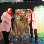 Slimed Up with Comedian Matthew Giffen and Gameshow Assistants