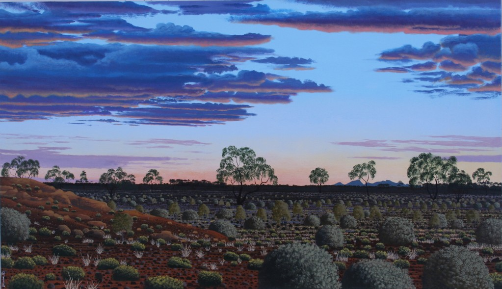 Beaver Lennon Title The Break of Dawn Size H60cm W103cm 1023x589 RAW: SALA  Our Mob  Artspace / Fest Theatre  Till 5 Sept  4K